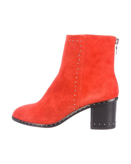 outlet footaction Rag & Bone Willow Stud-Trimmed Booties w/ Tags order cheap online discount visit new ZhsSEz2g