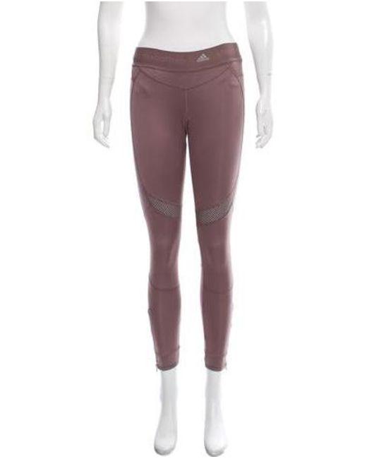 e4a4bb403347 Adidas By Stella McCartney - Gray Athletic Skinny Leggings - Lyst ...