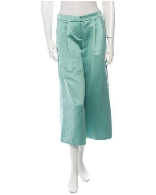 Tibi - Green Pants W/ Tags Mint - Lyst