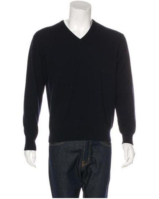 8658b9c3e2b5 Lyst - Loro Piana Cashmere V-neck Sweater W  Tags Navy in Blue for Men