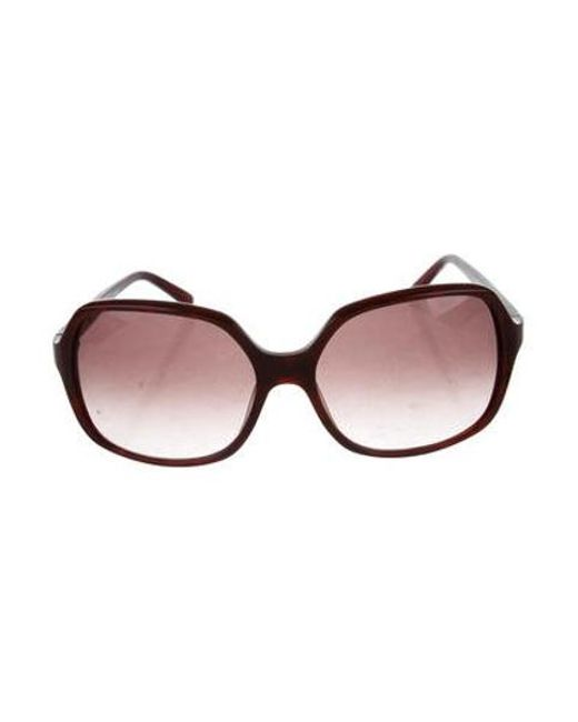 9ecde520243 Jil Sander - Black Oversize Gradient Sunglasses - Lyst ...