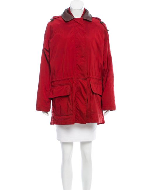 Loro Piana - Red Two-piece Hooded Coat - Lyst
