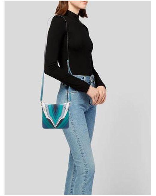 94c3c6938e ... Elena Ghisellini - Metallic Selina Mignon Multicolor Crossbody Bag -  Lyst ...
