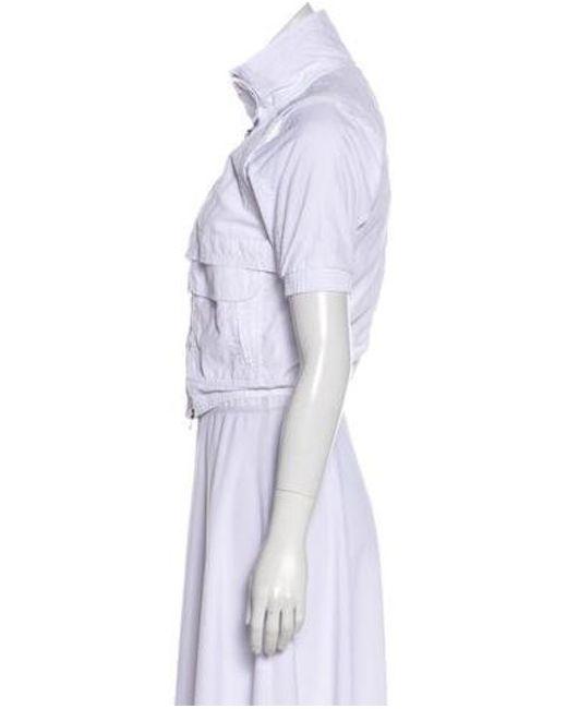 By By Collar Collar Collar Peter Adidas Stella Sleeve Pan Lyst Mccartney  Short Avx5Aq1 567c83391