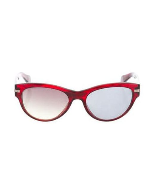 909148da832 Oliver Peoples - Red Kosslyn Polarized Sunglasses - Lyst ...