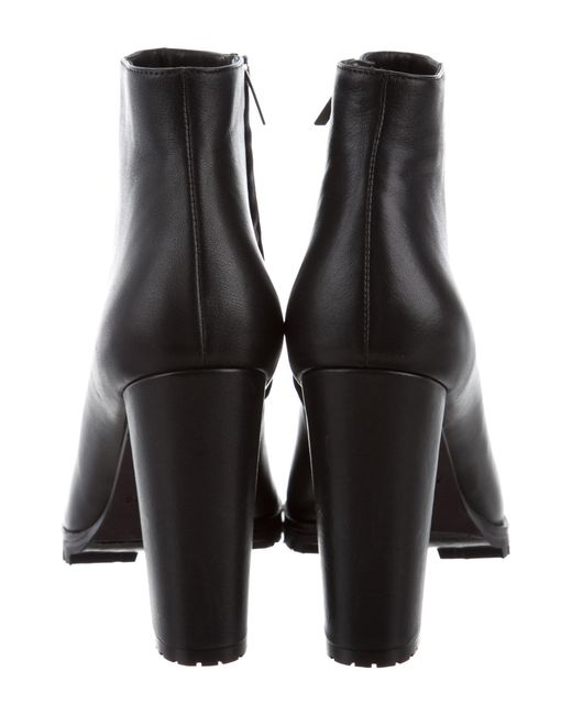 688f4e693b60ac ... Anine Bing - Black Pointed-toe Ankle Boots W  Tags - Lyst ...