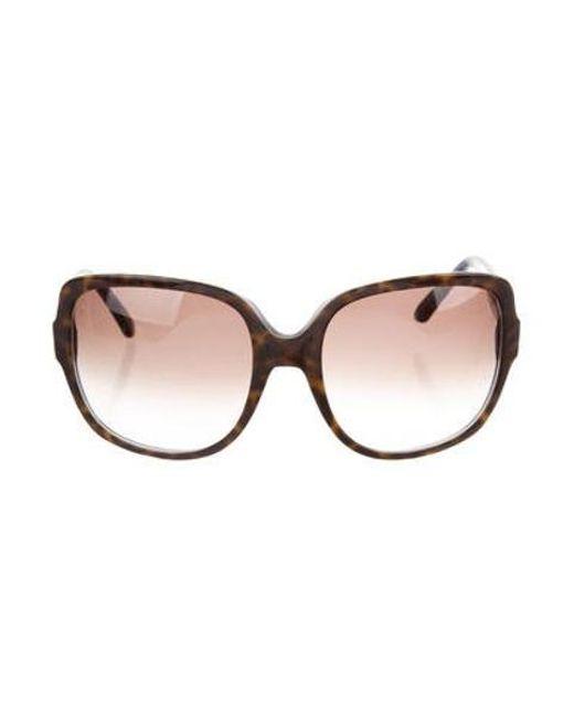 8cd517cb55046 Dior - Black Mitza 3 Oversize Sunglasses - Lyst ...