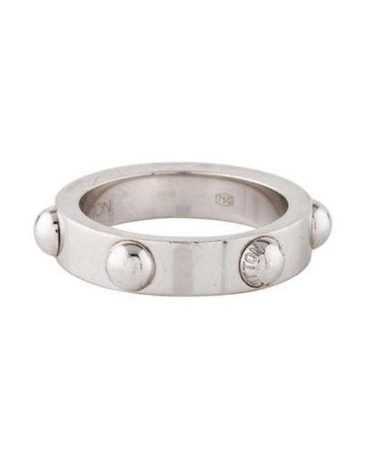 Louis Vuitton - Metallic 18k Clous Ring White - Lyst