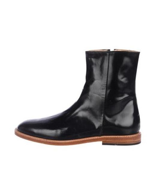 df157275129 Dieppa Restrepo - Black Leather Ankle Boots - Lyst ...