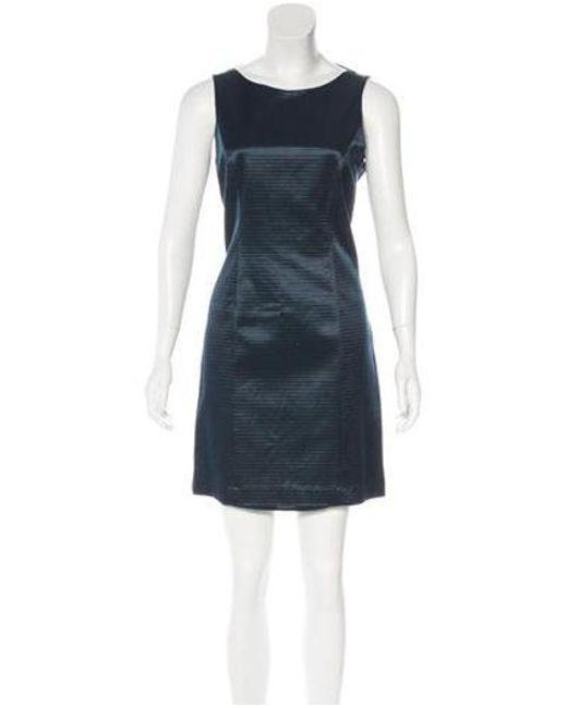 Theyskens' Theory - Blue Drew Silk Dress W/ Tags - Lyst