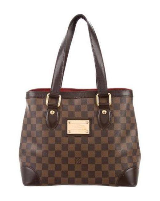 Louis Vuitton - Brown Damier Ebene Hampstead Pm - Lyst
