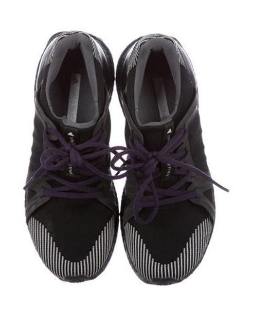 Lyst Adidas Da Stella Mccartney In Ultraboost Basso Alto Scarpe In Mccartney Nero f1888e