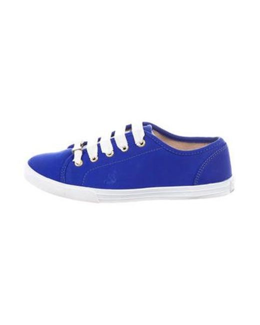 Kate Spade - Blue Woven Low-top Sneakers - Lyst