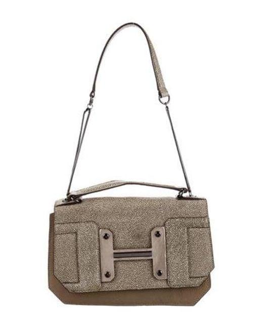 5b50a06026 Halston Heritage - Natural Leather Shoulder Bag Tan - Lyst ...