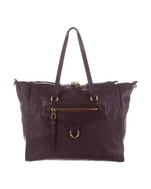 Louis Vuitton | Purple Empreinte Lumineuse Pm | Lyst