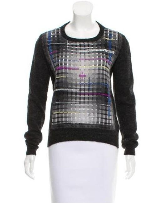 Multicolor Marco Mohair Embellished Vincenzo Sweater Lyst De Black wqwzOAY