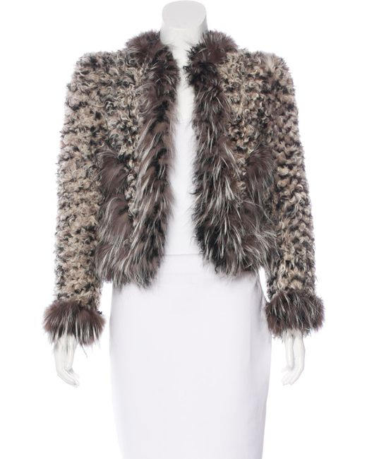 Marc Jacobs - Brown Kalgan Fur Jacket - Lyst