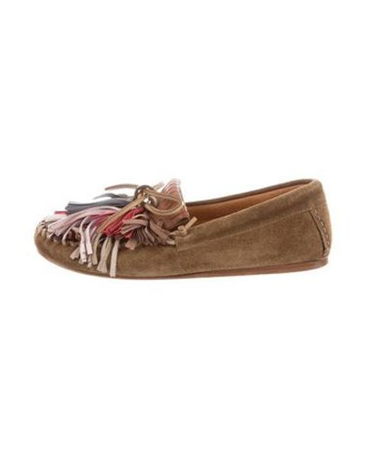 6cab92f25d Étoile Isabel Marant - Green Moccasin Loafers Olive - Lyst ...