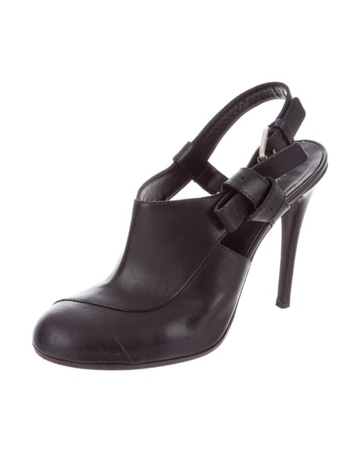 Thakoon Leather Slingback Pumps buy cheap professional sale visit view for sale 7nnooOxj