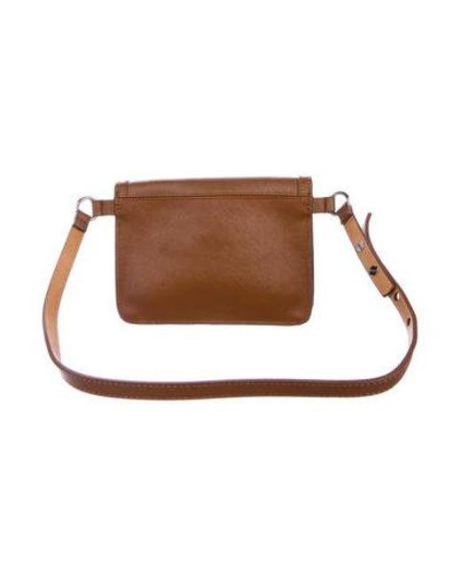 2a806a5e8c3a ... Michael Kors - Metallic Leather Waist Bag Cognac - Lyst