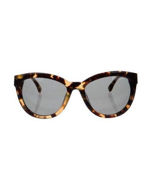 e0ffa8630bb2 Michael Kors - Natural Sasha Tortoiseshell Sunglasses Tan - Lyst ...