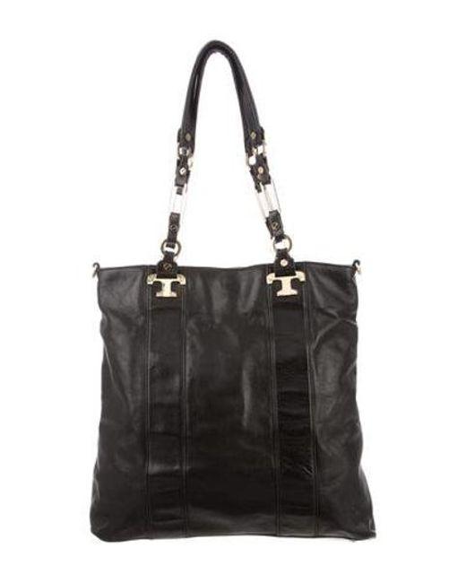 2b95e47902db Tory Burch - Metallic Embellished Bag Black - Lyst ...