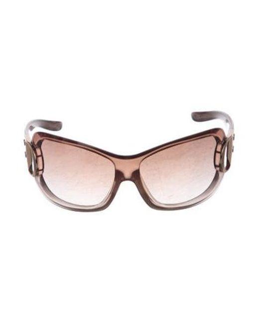 dfd84db517c Dior - Metallic Airspeed 2 Sunglasses Beige - Lyst ...