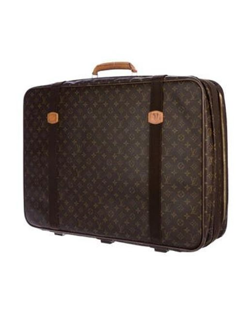 669a13ee97a5 ... Louis Vuitton - Natural Monogram Satellite 70 Brown for Men - Lyst ...