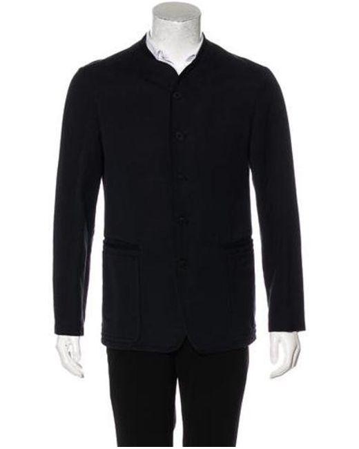 c202b903bbd3 Bottega Veneta - Blue Mandarin Sport Coat Navy for Men - Lyst ...
