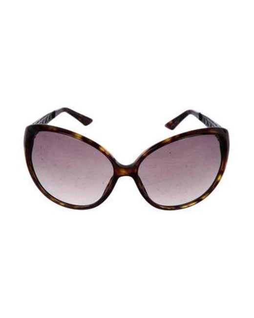 8c3214526209 Dior - Metallic Coquette 1 Tortoiseshell Sunglasses Brown - Lyst ...