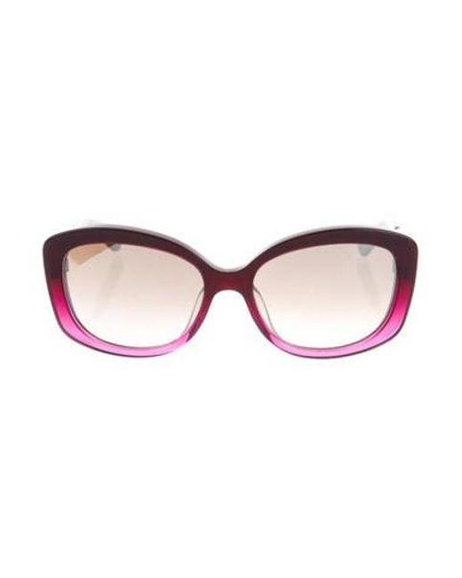 ab007385b8a Dior - Purple Extase 2 Sunglasses - Lyst ...