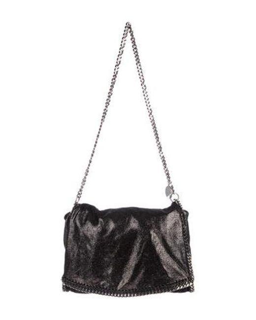 355f6c40f52c Stella McCartney - Metallic Falabella Shoulder Bag - Lyst ...
