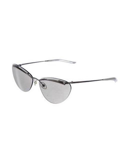 cc385dd555d6 ... Dior - Metallic Rimless Tinted Sunglasses Silver - Lyst ...
