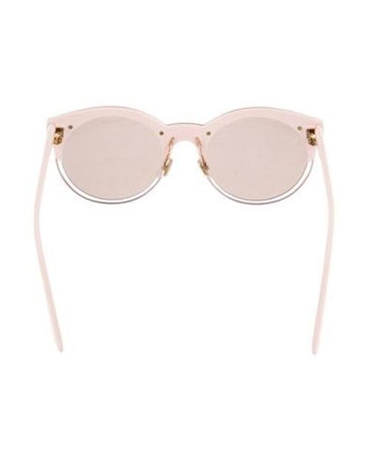 3c5ed504ee ... Dior - Metallic Sideral 1 Sunglasses Pink - Lyst ...