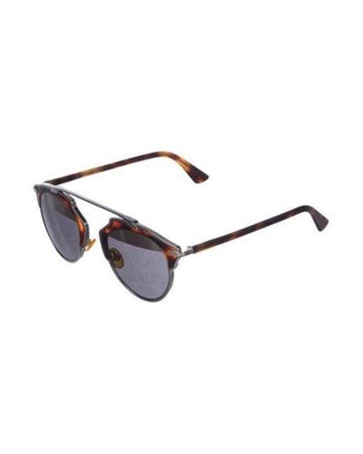 6304fc6464 ... Dior - Brown 2017 Soreal Tortoiseshell Sunglasses - Lyst ...