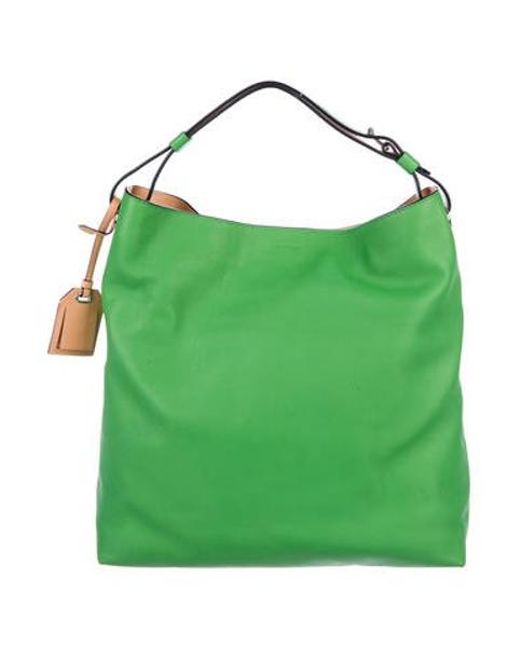 3d4512e32eee ... Reed Krakoff - Gray Rdk Leather Hobo W  Tags Green - Lyst