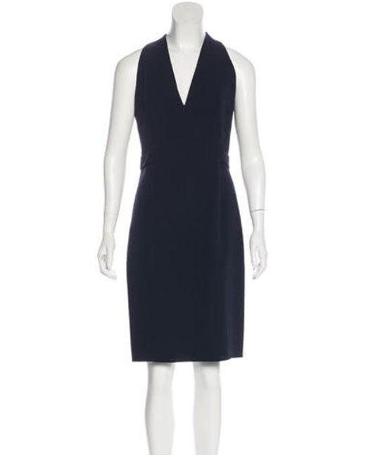9953e93192 Akris - Blue -blend Dress W  Tags - Lyst ...