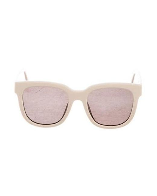 adf28c89b853a Gentle Monster - Metallic Tinted Oversize Sunglasses Gold - Lyst ...