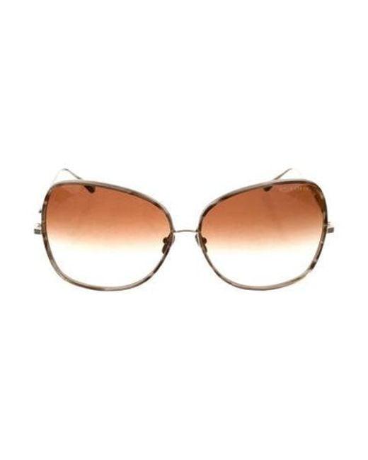 21165302008f Dita - Metallic Bluebird Two Sunglasses Brown - Lyst ...