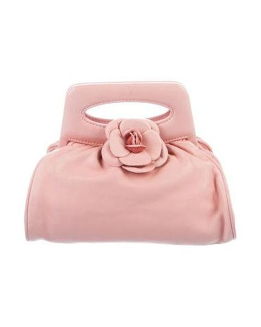 Chanel - Metallic Camellia Mini Bag Pink - Lyst ... b7a734b11c6ff