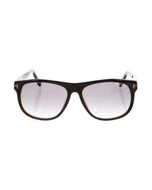 a623ddff26e Tom Ford - Black Oliver Gradient Sunglasses - Lyst ...