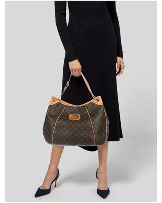 85441945b897 ... Louis Vuitton - Natural Monogram Galliera Gm Brown - Lyst ...