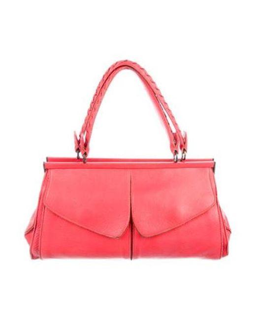 512d53d3469 Bottega Veneta - Natural Leather Frame Bag Beige - Lyst ...