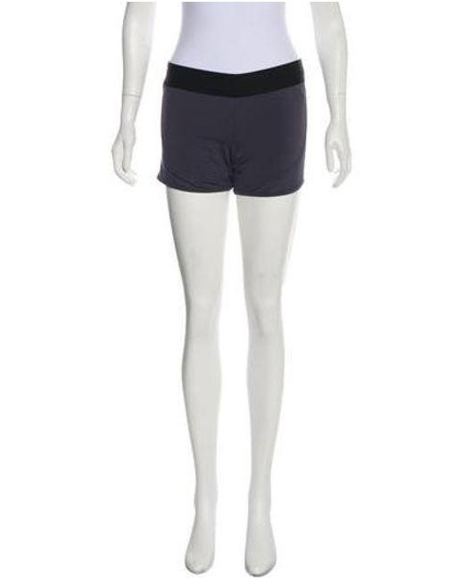 75c2767882ea58 Adidas By Stella McCartney - Gray High-rise Athletic Shorts W/ Tags Grey ...