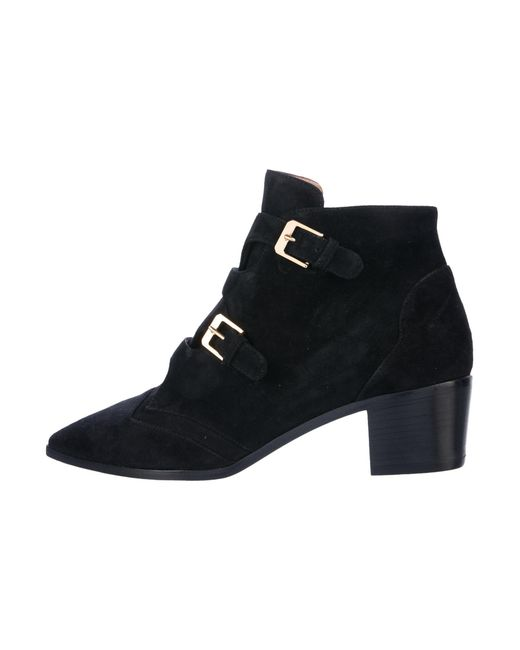 cheap the cheapest for sale online store Laurence Dacade Suede Round-Toe Ankle Boots WM3uk6PGR