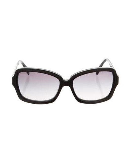 528369c486e Chanel - Black Cc Square Sunglasses - Lyst ...