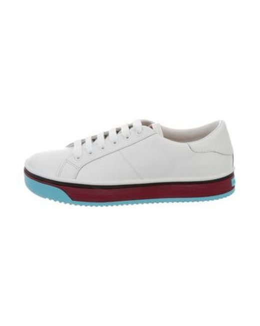 Marc Jacobs - White Multicolor Sole Empire Sneaker - Lyst