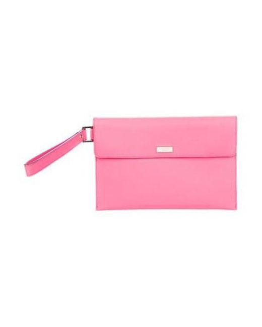 Kate Spade - Metallic Newbury Lane Molly Mini Ipad Sleeve Pink - Lyst