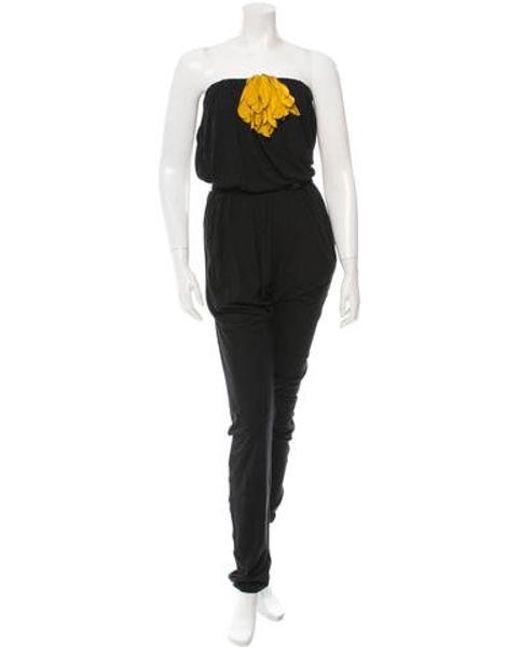 Lanvin - Black Jumpsuit W/ Tags - Lyst