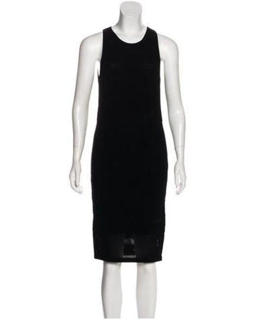 0276f67f65a4 MICHAEL Michael Kors - Black Michael Kors Knit Sleeveless Dress - Lyst ...